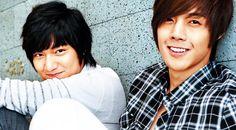 Kim Hyung Joon and Lee Min Ho