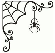 Welcome to the Silhouette Design Store, your source for craft machine cut files, fonts, SVGs, and other digital content for use with the Silhouette CAMEO® and other electronic cutting machines. Halloween Window, Halloween Spider, Holidays Halloween, Halloween Crafts, Happy Halloween, Halloween Decorations, Halloween Patterns, Halloween Stencils, Halloween Vinyl