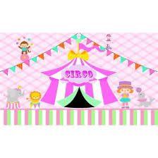 Resultado de imagen de painel sublimado circo rosa