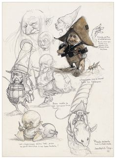 Jean-Baptiste Monge : Illustrator & Concept Artist Jean-Baptiste Monge is a French Illustrator, author, painter since 1994, creating his own illustrating stories in books. In2010 and he moves to Canada, and thencontinues to explore further and develop its expertise and imagination of the characters.Whether for their early concepts or later in the project directly on …