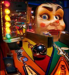 Pinball machine playfield close up Pinball Wizard, Flipper, Penny Arcade, Retro Arcade, Arcade Machine, The Wiz, Arcade Games, Rock And Roll, The Past