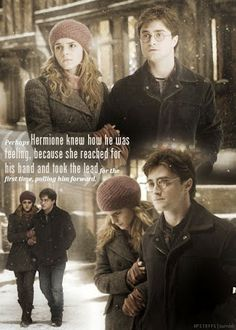 Harry and Hermione  Harry Potter Hermione Granger