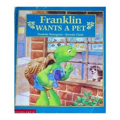 Pet Lesson Plan for Preschool Using Franklin the Turtle: Matching pets to their homes