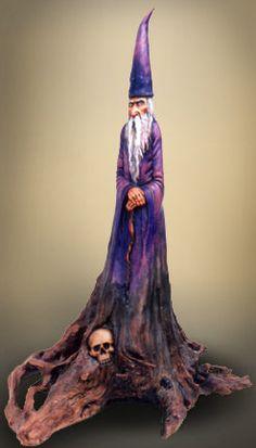 """Nancy Tuttle """"The Wizard"""" 22""""- tall 100+ year old Cedar Tree"""