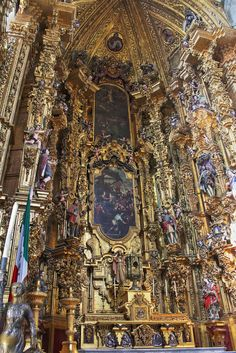Cathedral Altar . Mexico