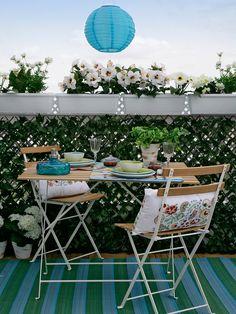Crea tu propio balcón verde