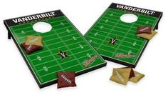 NCAA Vanderbilt University Tailgate Toss Cornhole Set