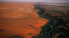 Risultati immagini per rub al khali foto dall'alto