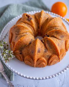 Sockerkaka med apelsin och choklad - Zeinas Kitchen Zeina, Cantaloupe, Muffin, Tart, Bread, Fruit, Breakfast, Food, Muffins