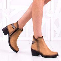 Botine Dama Helan Bej Booty, Ankle, Shoes, Fashion, Moda, Swag, Zapatos, Wall Plug, Shoes Outlet