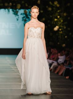 Whitney Deal - CFW - Bridal 2014 Runway