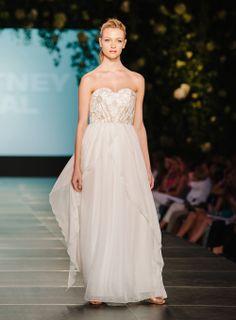 Whitney Deal - CFW - Bridal2014 Runway