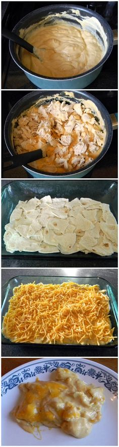 Chicken Taco Casserole - looks easy!
