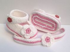 Baby girl clothes baptism Baby shoes Mary Janes Ballerinas