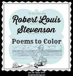Robert Louis Stevenson Poems to Color