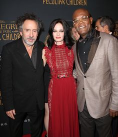 "3,978 mentions J'aime, 14 commentaires - Eva Green Web (@evagreenweb) sur Instagram : ""#EvaGreen, @samuelljackson and #TimBurton on the @peregrinesmovie NYC red carpet premiere  Eva is…"""