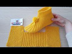Free Knitting Pattern for Easy Cozy Toes BootiesBooties to Crochet – Step by Step Guide - Design PeakLimon Çekirdeği ile Eviniz Her Zaman Mis Gibi Kokacak Gestrickte Booties, Knitted Booties, Knitted Slippers, Crochet Socks, Crochet Gifts, Crochet Baby, Baby Knitting Patterns, Knitting Stitches, Crochet Patterns