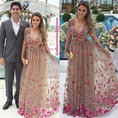 Image may contain: 3 people Lovely Dresses, Beautiful Gowns, Bridal Dresses, Prom Dresses, Formal Dresses, Afghani Clothes, Dress Indian Style, Floral Lace Dress, Dresses For Teens