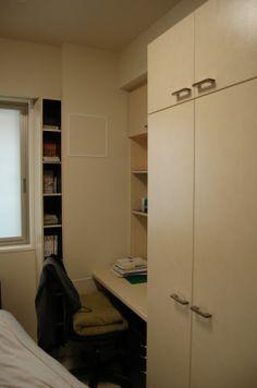 大阪福島区 Y様邸 子供室 クローゼット・本棚・収納付デスク  心映プロデュースのオーダー家具製作施工会社 0556styleが製作施工しました(2012年)