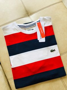 Camisa Lacoste, Lettering Styles, Swagg, Oakley, Happiness, Mens Fashion, Clothing, T Shirt, How To Wear