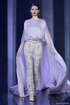Ralph & Russo's Fall-Winter 2014-2015 haute couture collection.