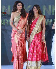 Choosing the Perfect Wedding Saree – Fashion Asia Indian Bridal Sarees, Indian Beauty Saree, Saree Blouse Patterns, Saree Blouse Designs, Indian Dresses, Indian Outfits, Indian Clothes, Silk Saree Kanchipuram, Silk Sarees