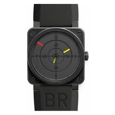 """Bell & Ross BR 03-92 """"Radar"""" Automatic Steel Carbon"""