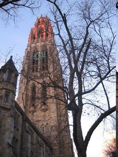 Harkness Tower in Yale University - Conneticut