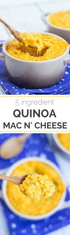 Do you love mac and cheese but hate the calories and fat that come along with it? We're serving up a super healthy version in this quinoa mac and cheese!