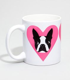#Fredflare                #love                     #Love #Boston #Terrier    I Love My Boston Terrier Mug                                                  http://www.seapai.com/product.aspx?PID=593523