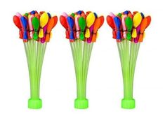 Magic Water Balloon Filler Automatic Fill 111 Balloons Refiller Bunch of Balloons Water Balloon Fight Toy Water Balloon Filler, Water Balloon Fight, Water Balloons, The Balloon, Ballons, Party Inflatables, Water Bombs, Balloons Online, Outdoor Birthday