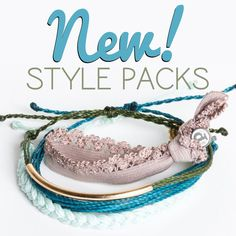 NEW Style Packs now available! Shop our 6 new packs only at PuraVidaBracelets.com/store/style-packs.html #stylepacks #armcandy #wristcandy #swag #puravida #puravidabracelets