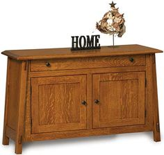 You'll save on every piece of furniture at Amish Outlet Store! We custom make every item, and you can get the Colbran Enclosed Sofa Table in Oak with any wood and stain.
