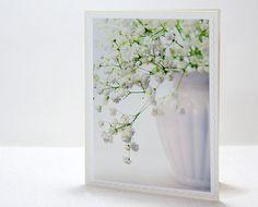 Baby breath white blank fine art photo by IrinaPhotographyCard, $3.99