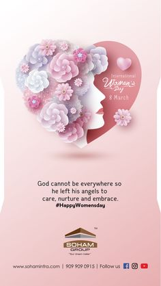 God cannot be everywhere so he left his angels to care, nurture and embrace. Women's Day 8 March, 8th Of March, Happy Girls Day, Happy Women, Indian Festivals, Business Logo Design, Character Design References, Diy Birthday, Cartoon Wallpaper