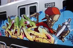 Graffiti on trains | graffiti on train | Flickr - Photo Sharing!