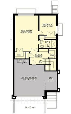 Northwest House Plan for Front Sloping Lot - 23574JD | 2nd Floor Master Suite, Butler Walk-in Pantry, CAD Available, Craftsman, Den-Office-Library-Study, In-Law Suite, Luxury, Media-Game-Home Theater, Northwest, PDF, Photo Gallery, Premium Collection, Sloping Lot | Architectural Designs