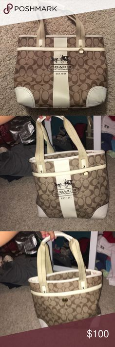 Authentic Coach Purse Authentic Coach Purse! Great Condition!  was my favorite purse growing up! Coach Bags Shoulder Bags