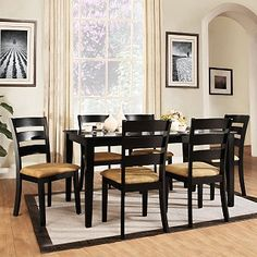 Wilma 7 pc Dining Set from overstock.com