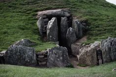 Stony magic in Bryn Celli Ddu, Anglesey, Wales