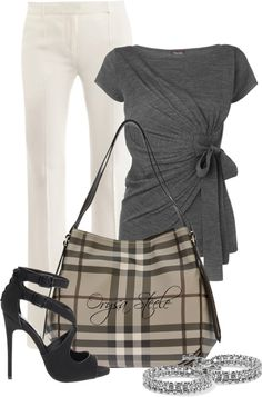 "orysa+steele | Smoked Check"" by orysa on Polyvore 