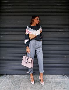 grey jacket, zara, fall outfit, business outfit,