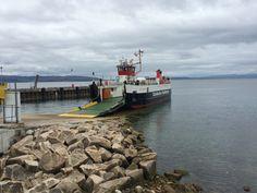Lochranza ferry, isle of Arran. Scotland.