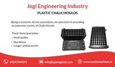 Jogi Engineering industries, Is the supplier of Candle moulds, Chalk moulds & Camphor making machines. We export silicon moulds, birthday & Metal Candle moulds Candle Making Machine, Candle Molds, Supply Chain, Engineering, Industrial, Packaging, Plastic, Candles, Plastic Art