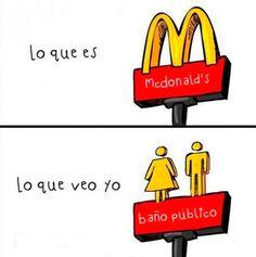 #funny #fact #mcdonalds #joke #divertido