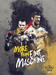 MundoUH!: ESPN Apresenta Cartazes Temáticos para a Eurocopa '16