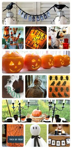 BOO! 30 over-the-top Halloween decorating and party ideas.