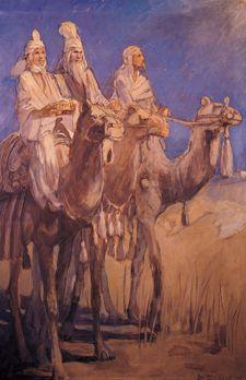 """""""The Wise Men""""  - Minerva Teichert"""