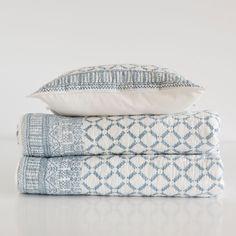 Sprei en kussenhoes met argyle motief - Dekbedden - Bed | Zara Home Netherlands