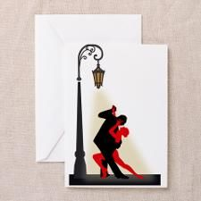 TANGO Greeting Card for